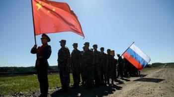 Армии России и Китая