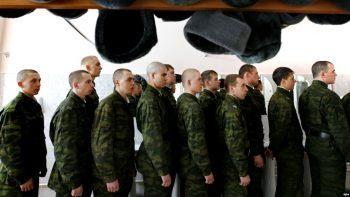 Военнослужащие в армии