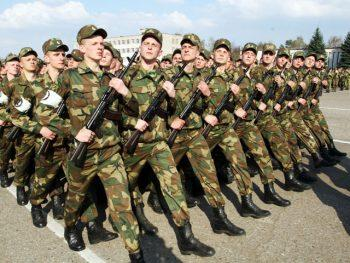 Военнослужащие РФ