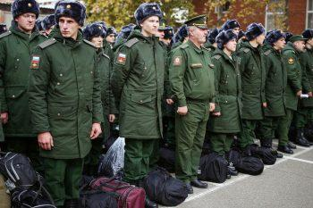 Военные в запасе на сборах