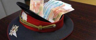 Зарплата полицейских РФ