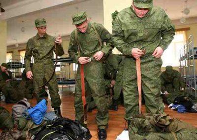 Вещевое имущество военнослужащих