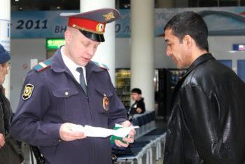 Работа сотрудников транспортной полиции