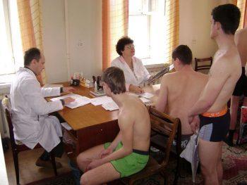 Призывники на мед. комиссии