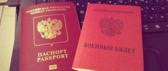 Паспорт призывника