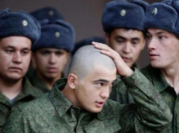 Контрактники в армии РФ
