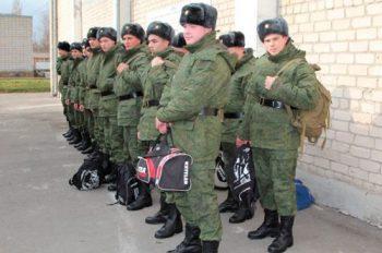 Солдаты-срочники в увольнение