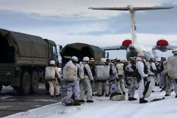 Военнослужащие контрактники на севере