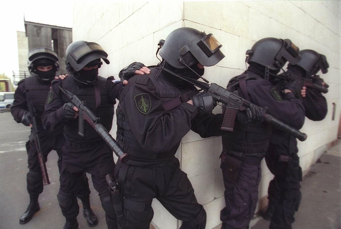 Внешний вид бойцов спецназа ФСБ на задании