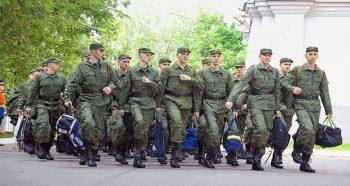 Военнослужащие армии