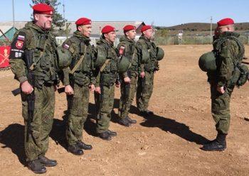 Военнослужащие военной полиции