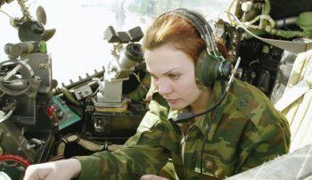 Военнообязанные профессии для женщин